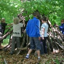 Baumhütte bauen